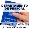 ROTINAS DE DEPARTAMENTO DE PESSOAL COM ENFOQUE NO eSOCIAL