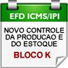 BLOCO K (EFD ICMS/IPI) - Novo Controle da Produ��o e do Estoque